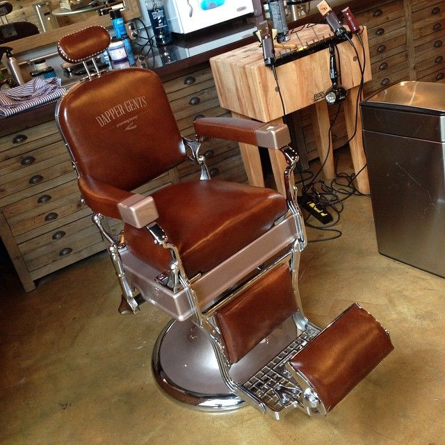 "135 Likes, 12 Comments - Sid - Custom Barber ChairsATL. (@antikbarberchairs) on Instagram: ""Dapper Gents Barbershop/Boutique As always sitting on #genuineleather #chrome or #nickel the only…"""