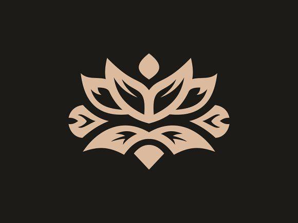 Infinity Flower by Brandlogo on @creativemarket