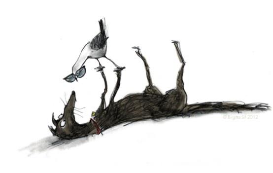 gorgeous illustration by Birgitta Sif - http://birgittasif.com