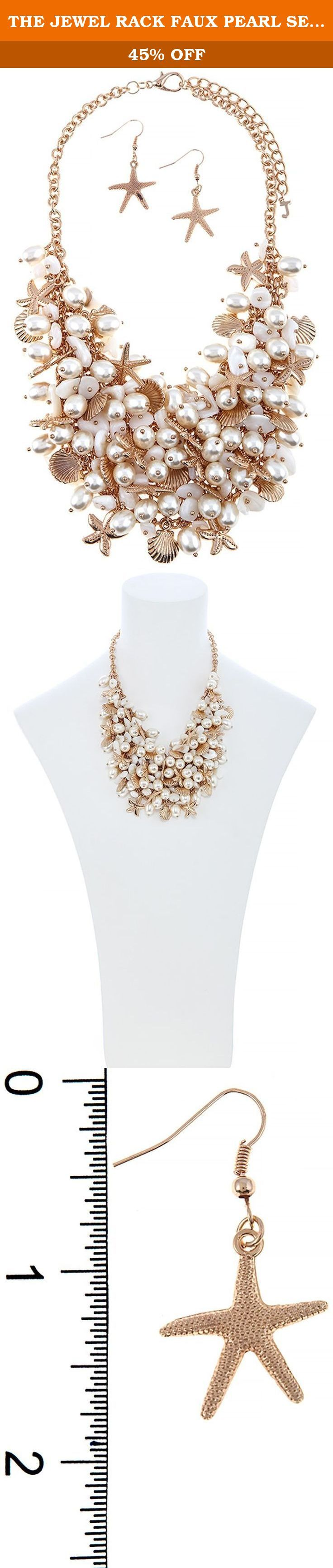 THE JEWEL RACK FAUX PEARL SEA CHARM BIB NECKLACE SET. FASHION DESTINATION PRESENTS THE JEWEL RACK FAUX PEARL SEA CHARM BIB NECKLACE SET. Buy brand-name Fashion Jewelry for everyday discount prices with Fashion Destination! Everyday LOW shipping *. Read product reviews on Fashion Necklaces, Fashion Bracelets, Fashion Earrings & more. Shop the Fashion Destination store for a wide selection of rings, bracelets, necklaces, earrings and diamond jewelry. Whether you are searching for men's…