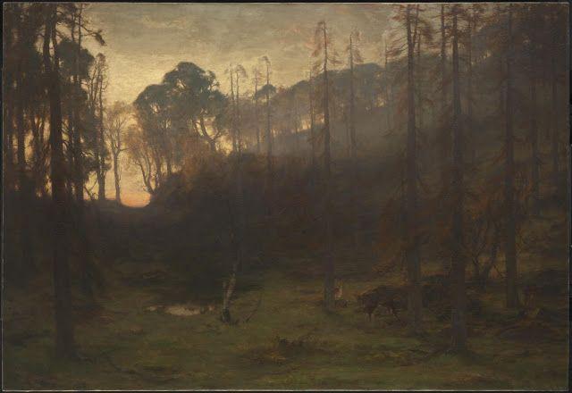 David Farquharson (1839-1907), Birnam Wood - 1906