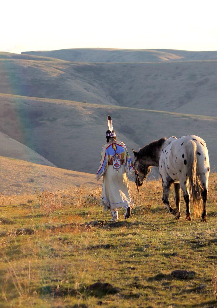Oregon | 2015 | Appaloosa | Cayuse Nez Perce | CTUIR Wallowa band Non Treaty Nez Perce, Oregon | Katie Harris photo by Deborah Harris