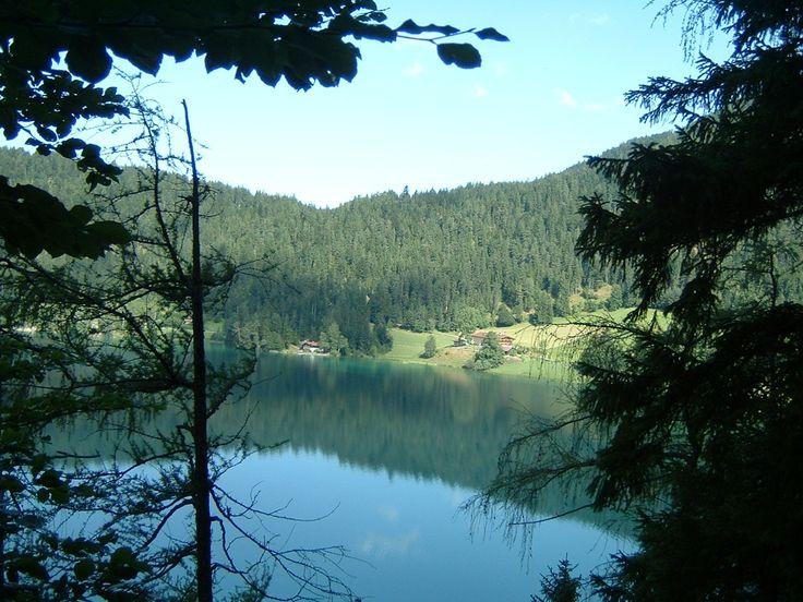 Lake Hintersteiner See, near Scheffau, Austria, 6/8/2013