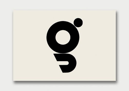 Trademark for a Japanese publishing house: by Yusaku Kamekura: from Graphis Annual 57/58.