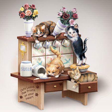 Подарочный декор - Игривые котятки