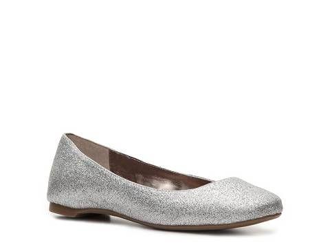 Silver Flat Shoes Dsw