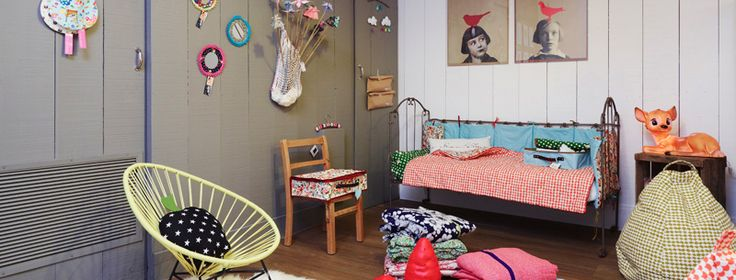 Great details.: Of Children, Rooms Inspiration, Kids Spaces, Red Poppies, Boys Decor, Eclectic Kids Rooms, Kids Decor, Girls Rooms, 4 Kids