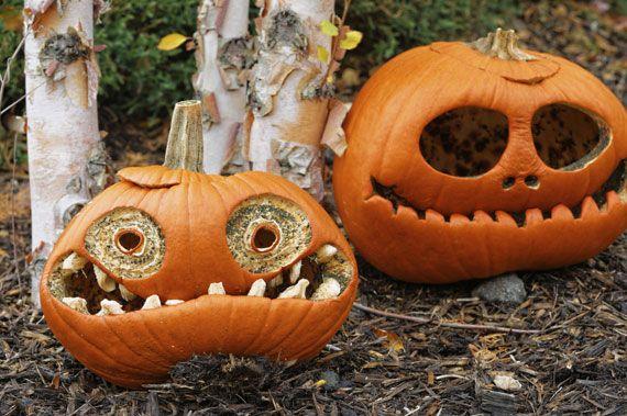 Halloween steht vor der Tür. Was noch so alles vor eurer Tür stehen könnte, zeigen wir euch hier. Zauber- und schauderhafte Halloween-Kürbis-Ideen erwarten euch.