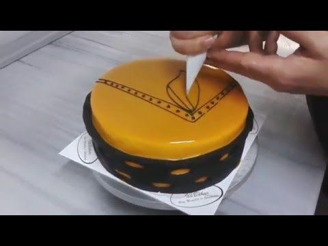 How to make a chocolate to decorate cake Nice - YouTube
