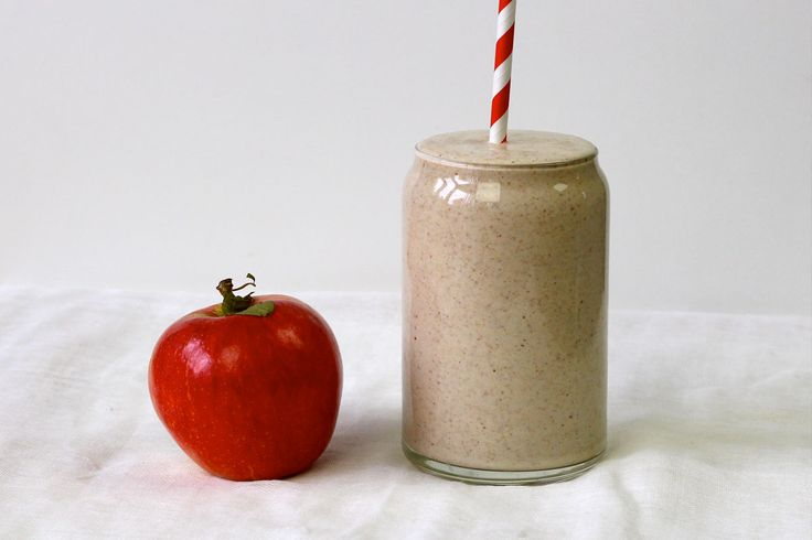 Apple Pie Smoothie (and a word on peanuts) - The Holistic Ingredient.