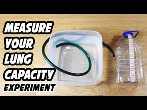 How To Measure Your Lung Capacity - YouTube