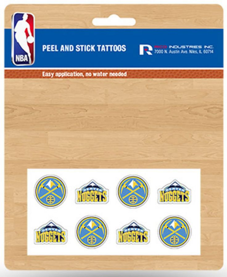 New! Denver Nuggets Team Color Basketball Keychain #DenverNuggets