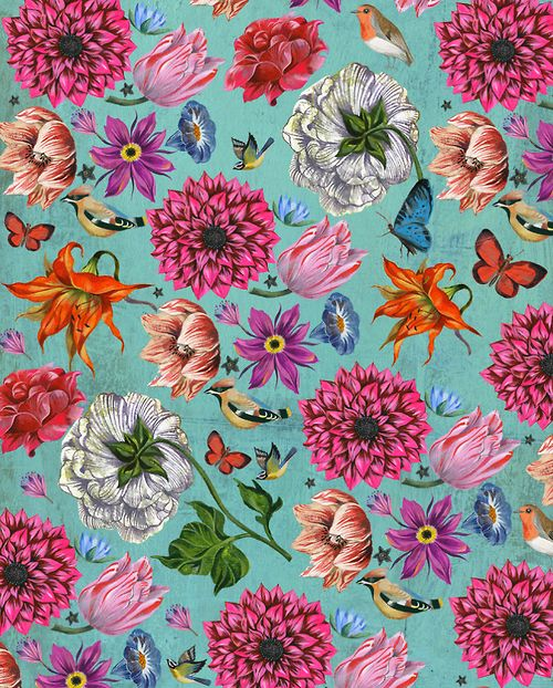 birds & flowers Más