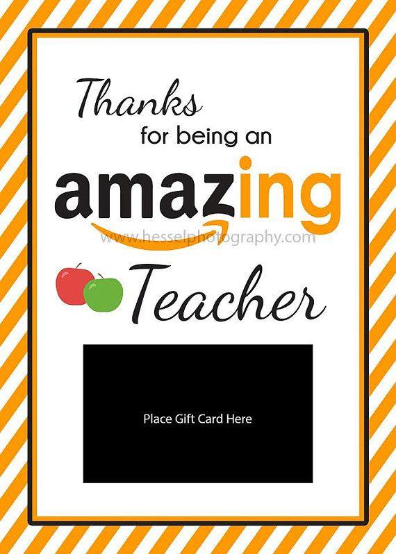 Printable amaz-ing gift card, amazing giftcard holder ...