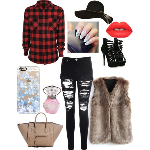 Untitled #6 by chrissiemabena on Polyvore featuring polyvore fashion style Chicwish Glamorous Billabong Casetify Lime Crime