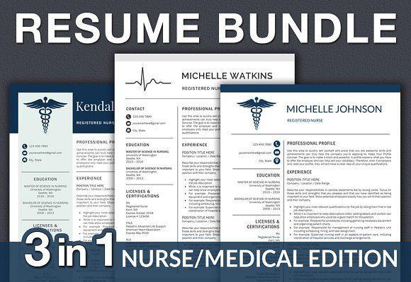 Nurse Resume / Doctor CV  @creativework247