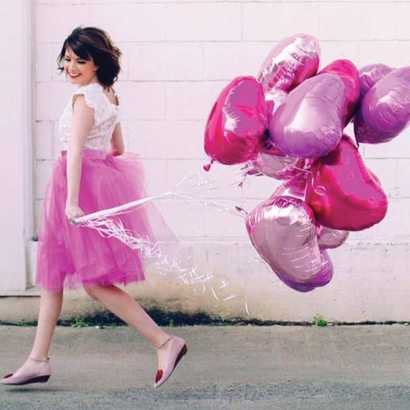 Ballons coeurs mylar en rose pastel et rose intense pour une décoration de mariage ou pour déclarer votre flamme à l'occasion de la St Valentin. Disponible dans la boutique sur www.rosecaramelle.fr #love #stvalentin #valentine #amour #mariage #saintvalentin #fete #deco #pink #rose #pastel