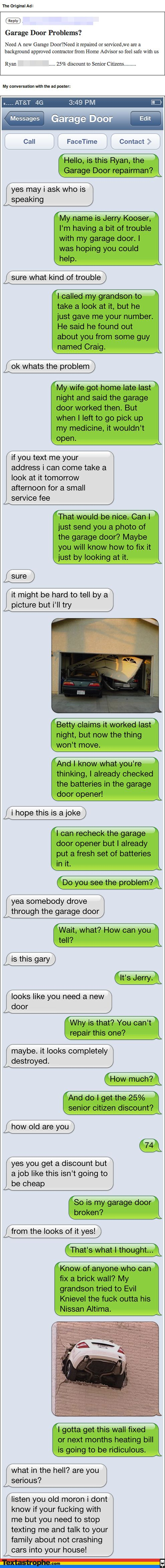 Hilarious texting prank at Textastrophe