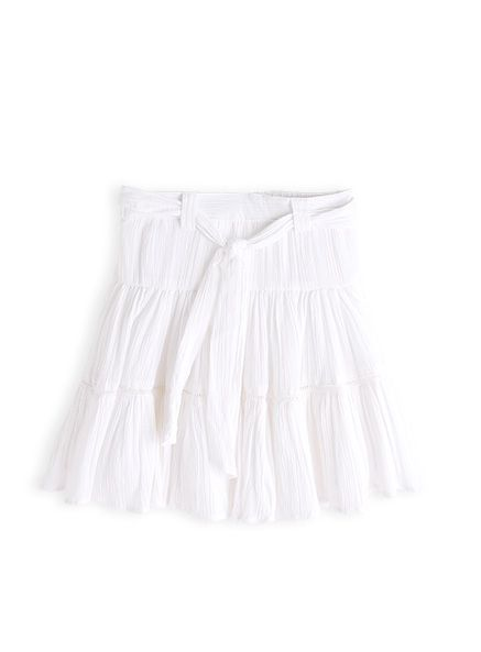 Pumpkin Patch - skirts - tiered skirt - S3TG70025 - white - 12-18m to 5