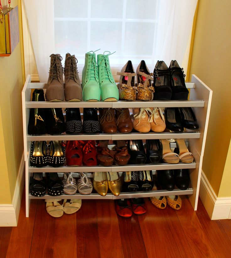 1000+ Ideas About Diy Shoe Rack On Pinterest