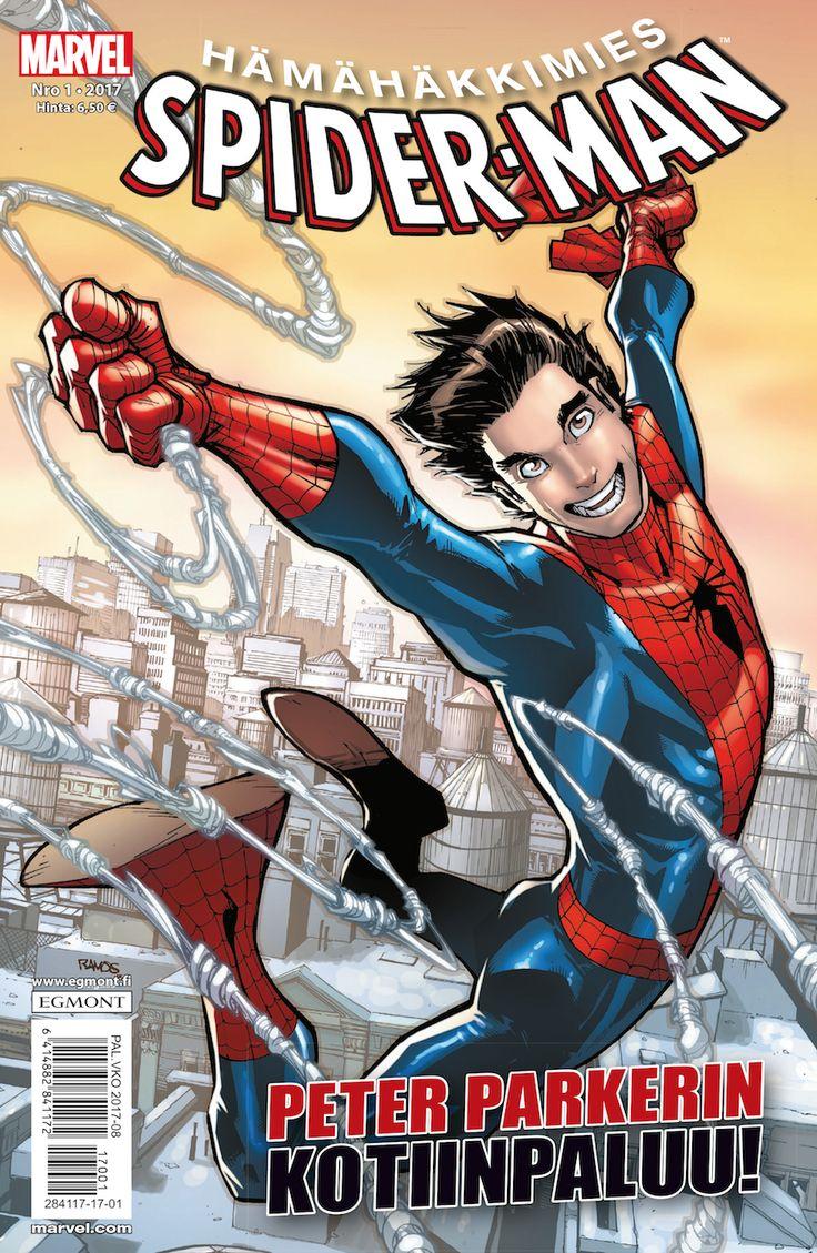 Peter Parkerin paluu Hämähäkkimieheksi. Nyt lehtipisteissä! #Marvel #SpiderMan #sarjisparhaus