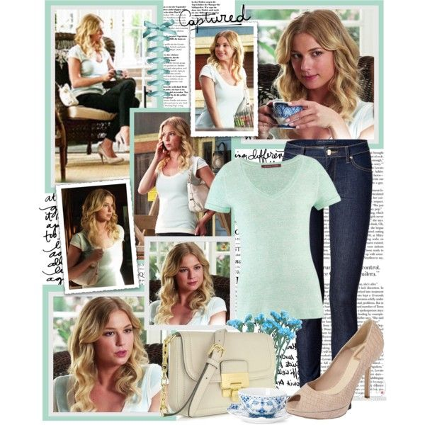 Emily Thorne by productionkid on Polyvore featuring Comptoir Des Cotonniers, Juicy Couture, Christian Dior, Michael Kors, Caslon, Revenge and emilythorne