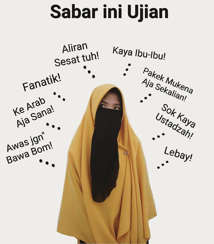 Sesungguhnya orang-orang yang berdosa adalah mereka yang  menertawakan orang-orang beriman. [Al-Muthoffifin :29] . Rasulullah Bersabda Akan datang suatu masa ke tengah umat manusia Dimana orang yang bersabar di atas agamanya laksana orang yang memegang bara Api. Dari Anas radhiyallahu'anhu Shahihul jami'-8002 || as-silsilah ash-shahiha-957. .  Follow and Join @IndonesiaMenutupAurat  @IndonesiaMenutupAurat  @IndonesiaMenutupAurat  .  Kiriman ukh @kriss_dayanti