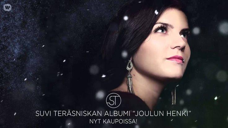 """Suvi Teräsniskan albumi """"Joulun henki"""" nyt kaupoissa!"""