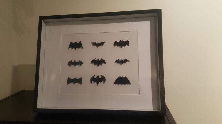 Small Batman frame $40 from Sherlock Designs Facebook.com/sherlockdesigns