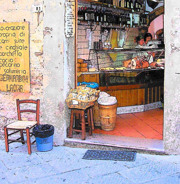Tuscany gourmet shop  #Italyphotos #italyphotography #streetphotography #Tuscany #gastronomia
