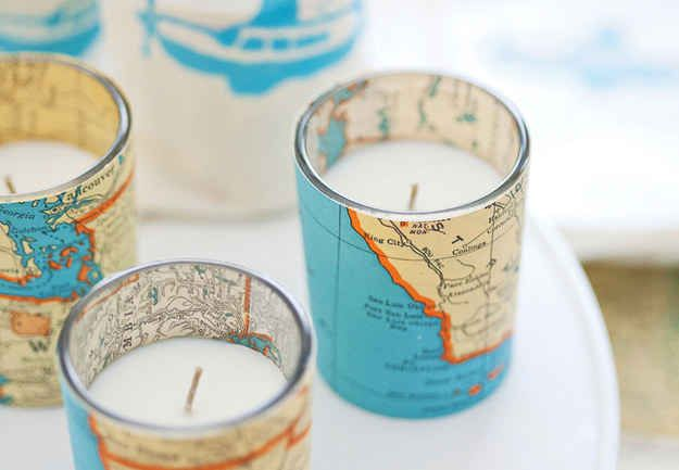 Community: 16 Crafty DIY Projects That Will Help You Recycle Your Old Maps