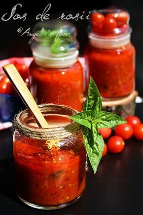 Angel's food: Sos de rosii facut in casa-Homemade tomato sauce