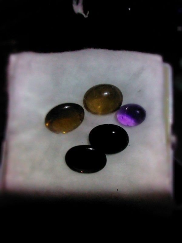 Batu kecubung teh, kecubung kopi dan kecubung ungu