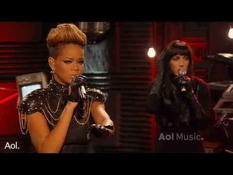 Rihanna Disturbia AOL Session 2010 HQ Live I know this song is old but this performance was flawless rihanna knows how to sing and she prouved it with this acoustic cover of her song disturbia :)