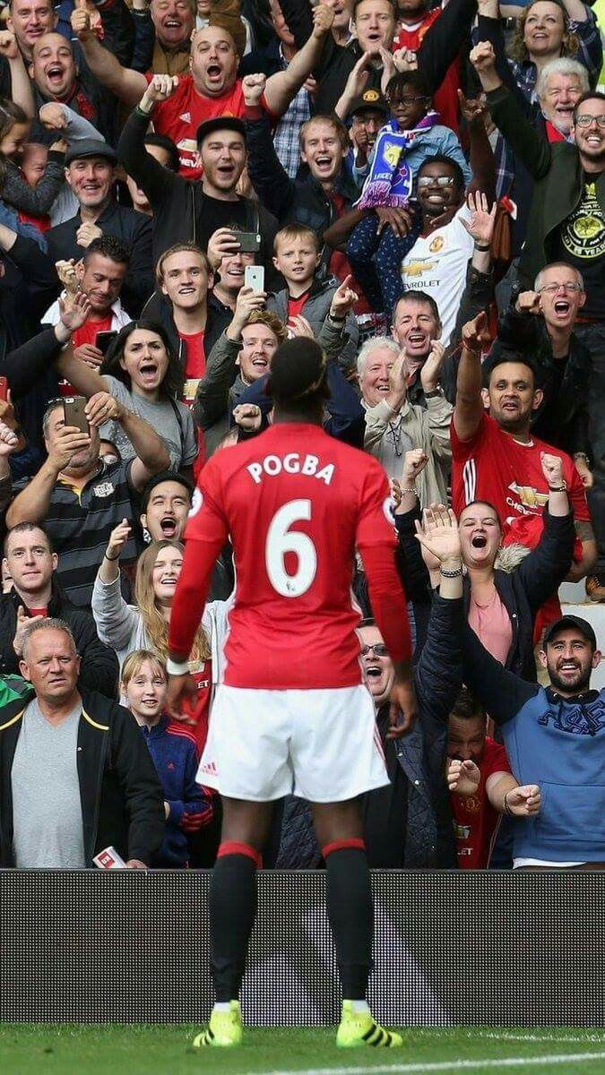Pogba, Manchester United.                                                                                                                                                                                 More