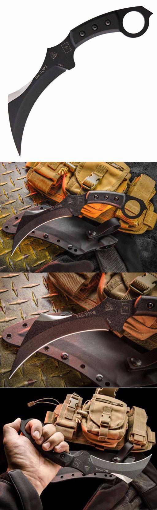TOPS Knives TAC-TOPS Karambit Fixed Knife