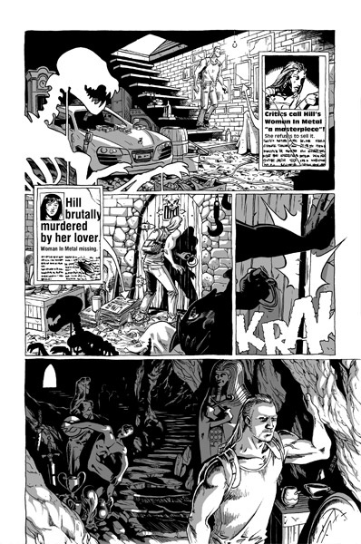 The Dragon And the Ghost http://iliaskyriazis.com/comics/the-dragon-and-the-ghost/