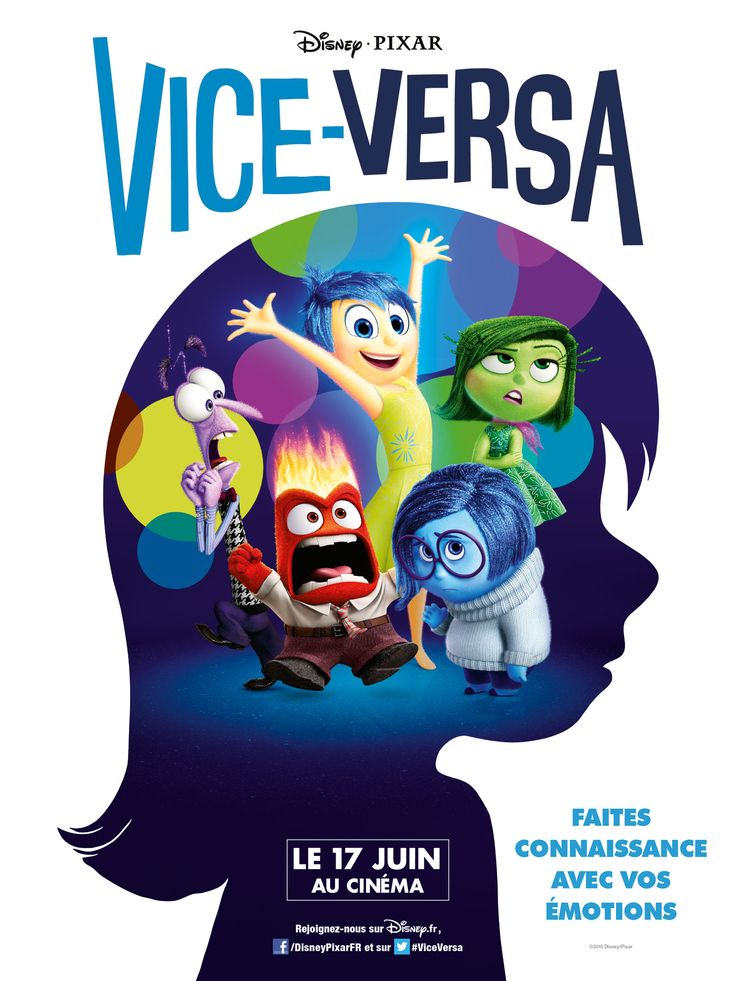 Critique: Vice-Versa, un film de Pete Docter [critikat.com]