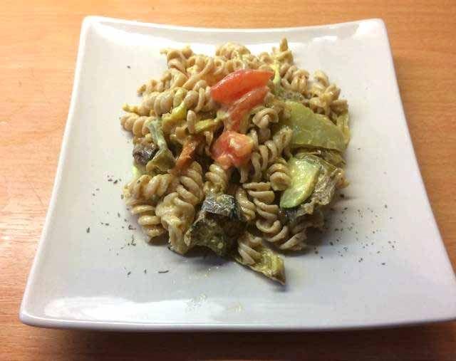 Ζυμαρικά με ψητά λαχανικά αλλιώς! #zimarika #lahanika #cookpadgreece