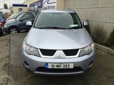 Used 2010 MITSUBISHI OUTLANDER 2.0 DI-D AWD INTENSE 7 SEATER 5DR Diesel in Dublin