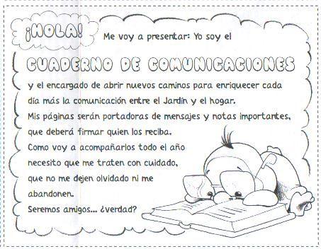 Mensajes cuadernos mariela lbumes web de picasa for Actividades para el jardin de infantes
