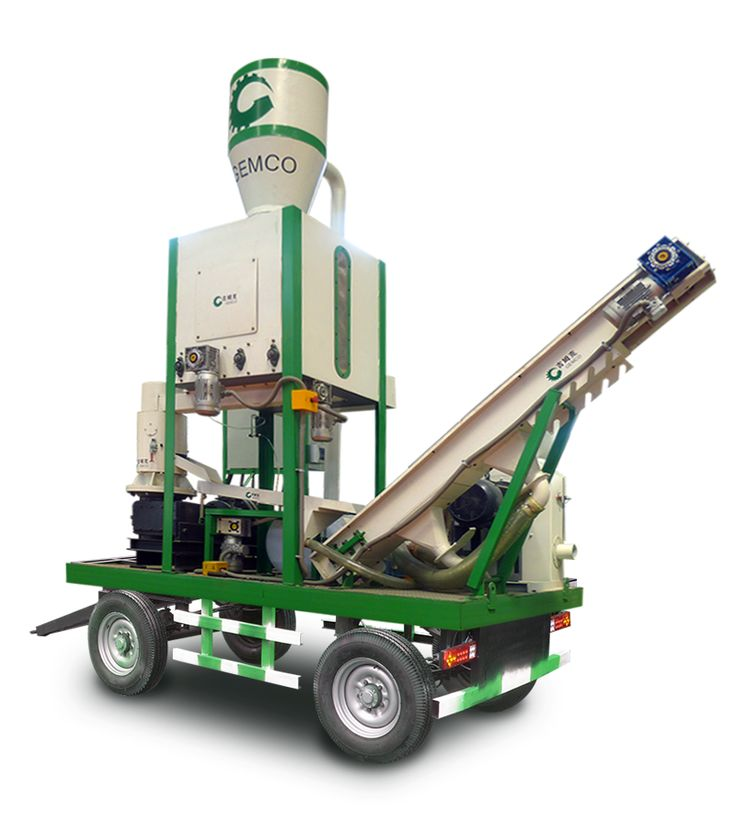 This Biomass Pellet Plant Is Specially Designed For Biomass Pellet