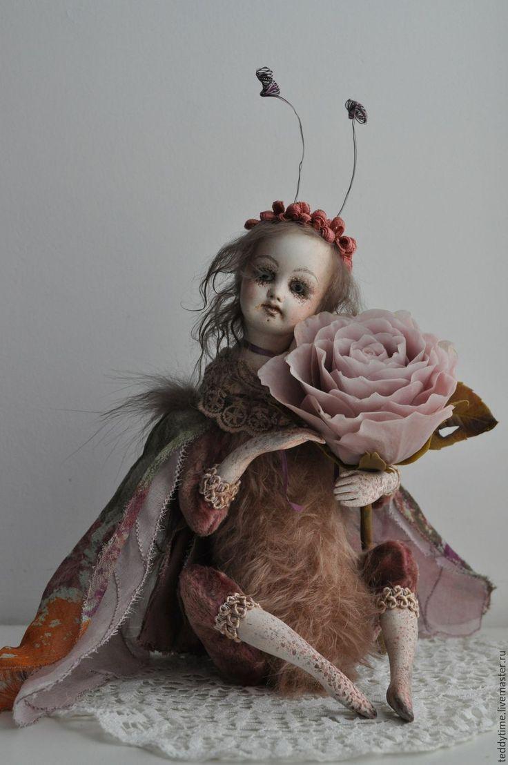 Купить Тедди-долл Мотылёк. - тедди-долл, тедди долл, мотылек, бабочка, кукла бабочка