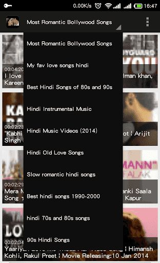 Keep the Romance alive forever with the Best Romantic Bollywood song's collection, because, there's no better way to express love than through music. Click on the interactive love buttons to go back & forth & shuffle between songs or simply relax & listen to all of the songs back to back. Enjoy!<p>Love Songs Hindi<br>Most Romantic Bollywood Songs<br>My fav love songs hindi<br>Best Hindi Songs of 80s and 90s<br>Hindi Instrumental Music<br>Hindi Music Videos (2014)<br>Hindi Old Love…