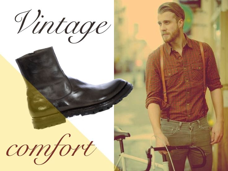 Vintage man. http://bit.ly/11PVWrP #scarpe #shoes #IloveOnlineShopping #onlineshopping #winter #boots