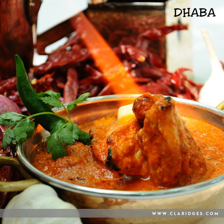 Cooked and garnished faultlessly- our Butter Chicken perfectly finished with a dollop of butter is every Punjabi food lovers delight!   Book a table and try some of the classics at Dhaba