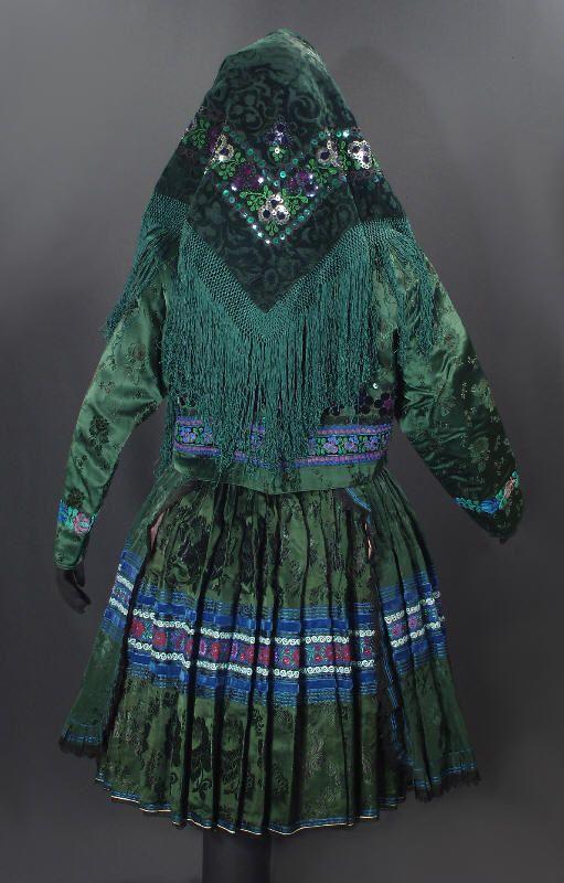 traditional dress ... Tekov, Slovakia