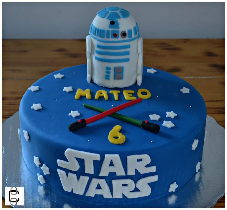 Best 25 Star Wars Cake Decorations Ideas On Pinterest