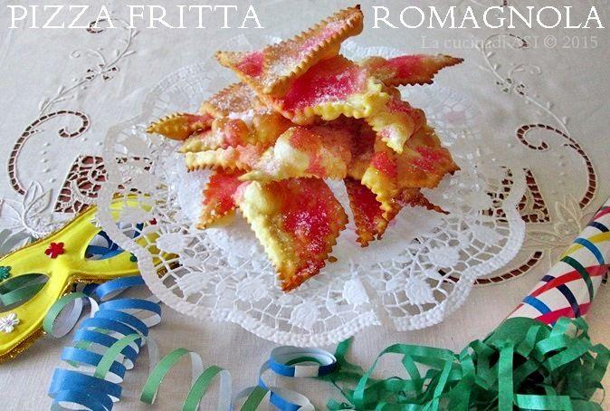 E' la pizza fritta dolce la protagonista di questo articolo un dolce tipico della mia Romagna che facciamo sempre per Carnevale..è buonissima!La cucina di ASI