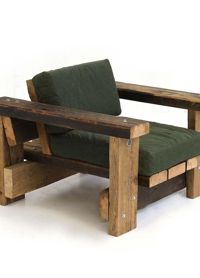 Para quem quer relaxar e esticar as pernas, o assento maior é ideal - como hacer bancas de madera para jardin